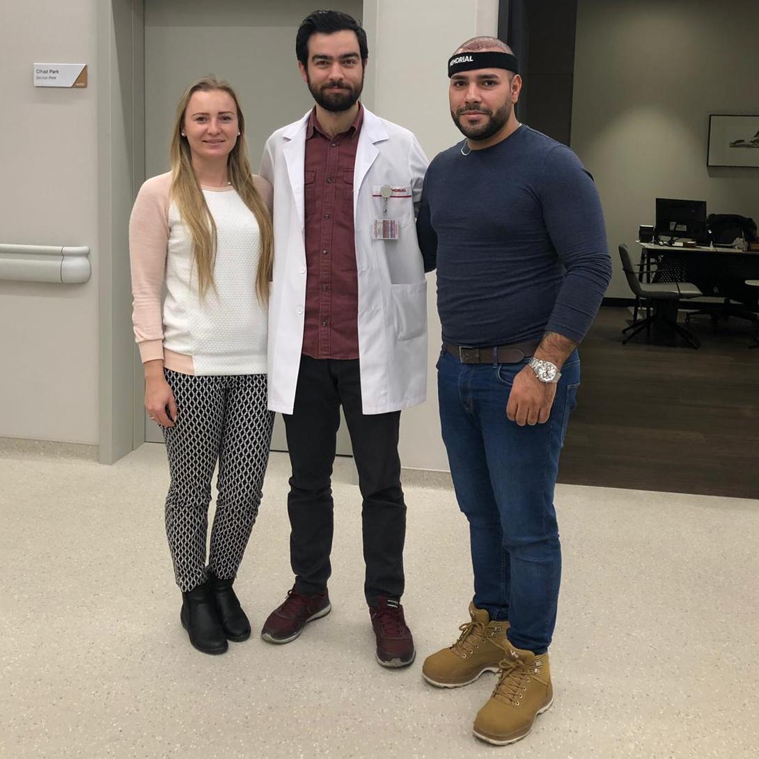 Transplantace vlasů Turecko Reference ČeskoTurecko nemocnice Memorial
