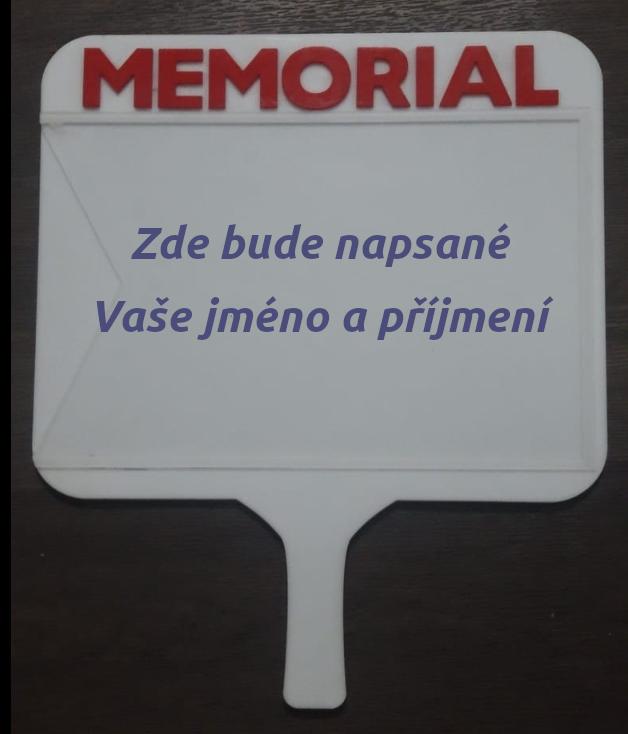 Cedulka se jménem - Nemocnice Memorial