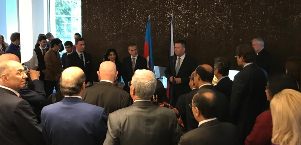 Ázerbájdžán projev