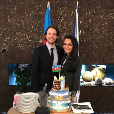 ČeskoTurecko na slavnostní recepci Velvyslanectví Ázerbájdžánské republiky v ČR