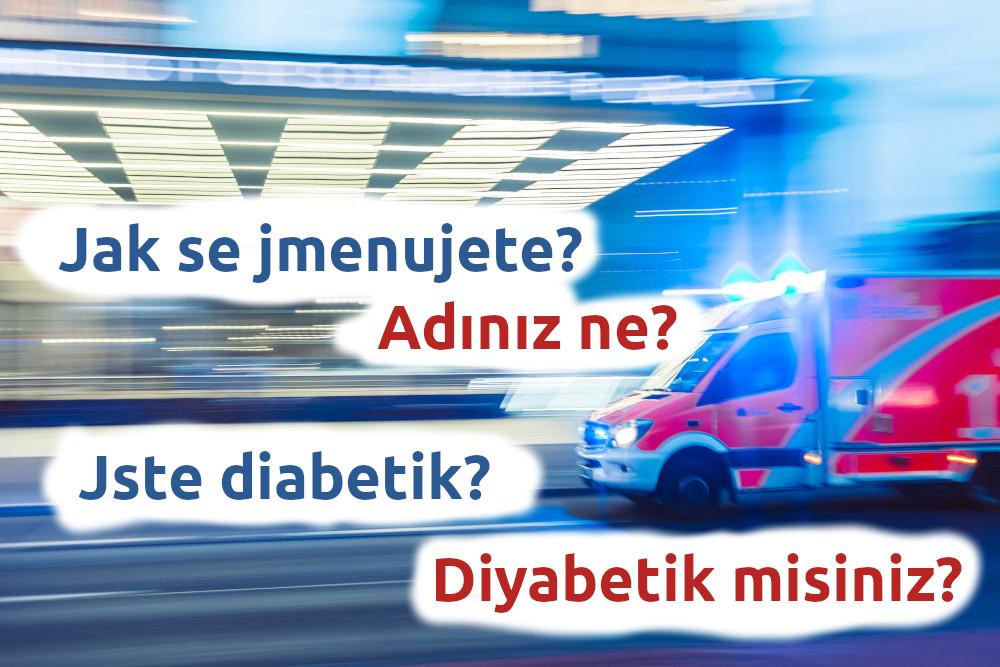 Komunikační karty pro případ nouzové situace v Turecku