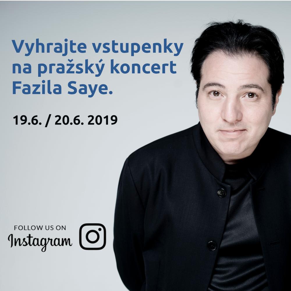 Soutěž o vstupenky na koncert tureckého klavíristy Fazila Saye v Praze