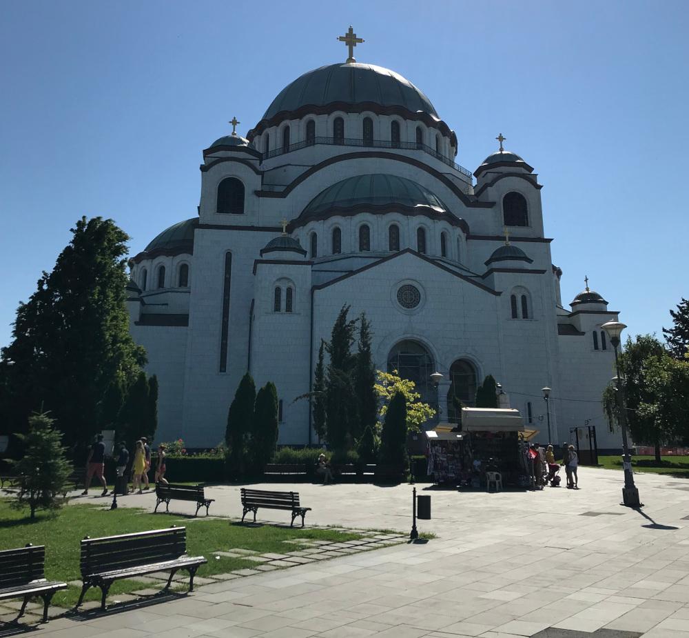 Bělehrad Katedrála Svatého Sáva