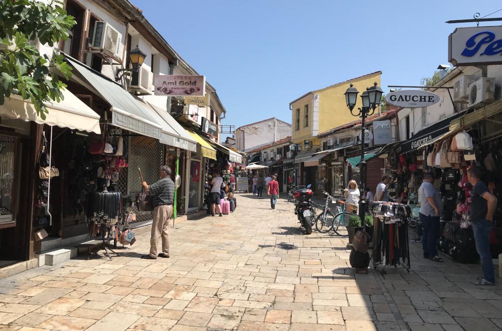 Skopje turecká část města