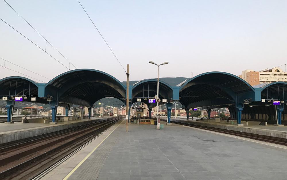 Skopje vlakové nádraží