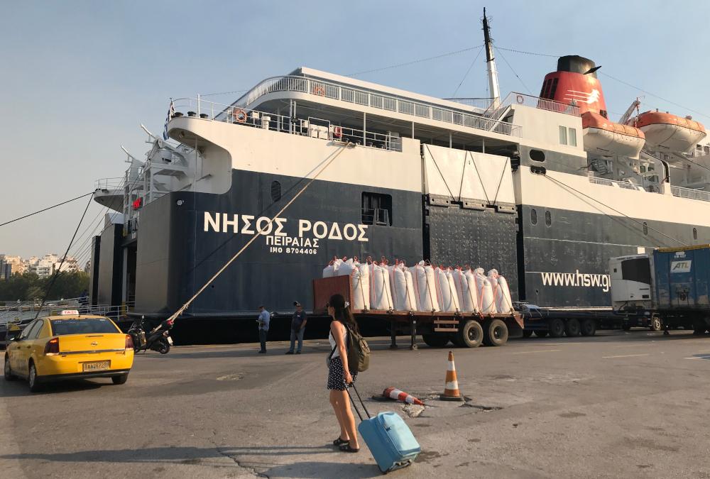 Řecko loď