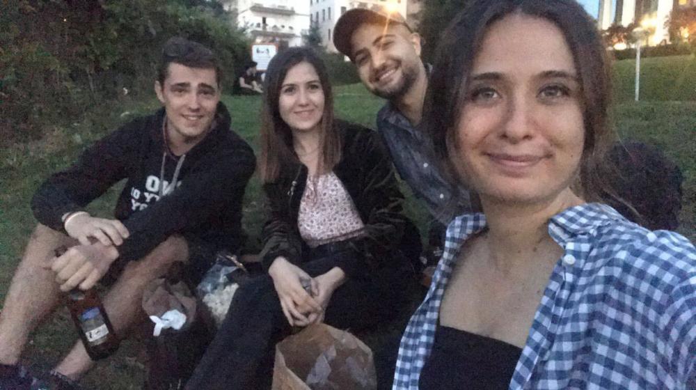 Selfie na pikniku