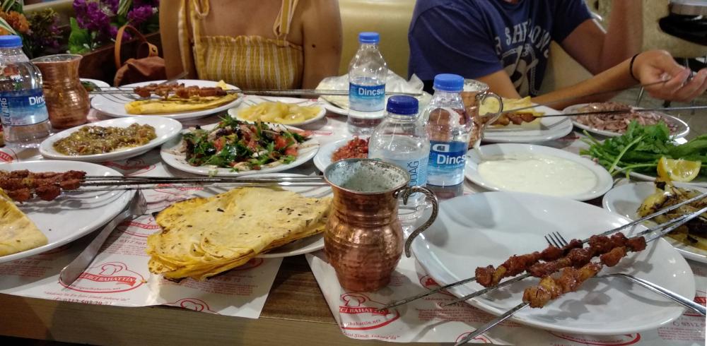 Turecké jídlo: Şiş Kebap