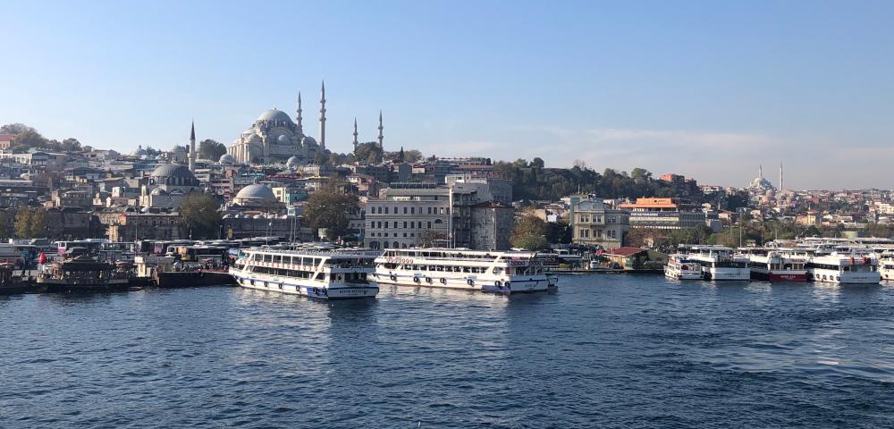 istanbul lodě