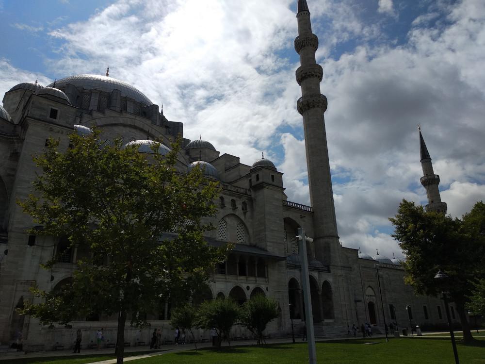 Modrá mešita Istanbul