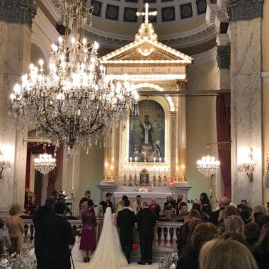 Křesťanská turecko-arménská svatba v Istanbulu