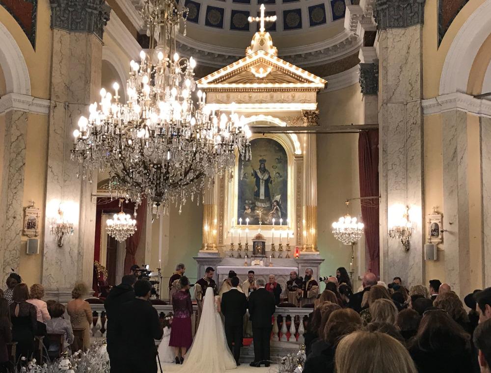 Křesťanská svatba v Turecku