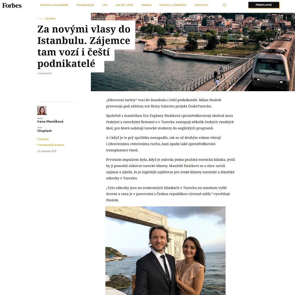 ČeskoTurecko Forbes