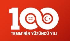 Logo 100 let turecký parlament