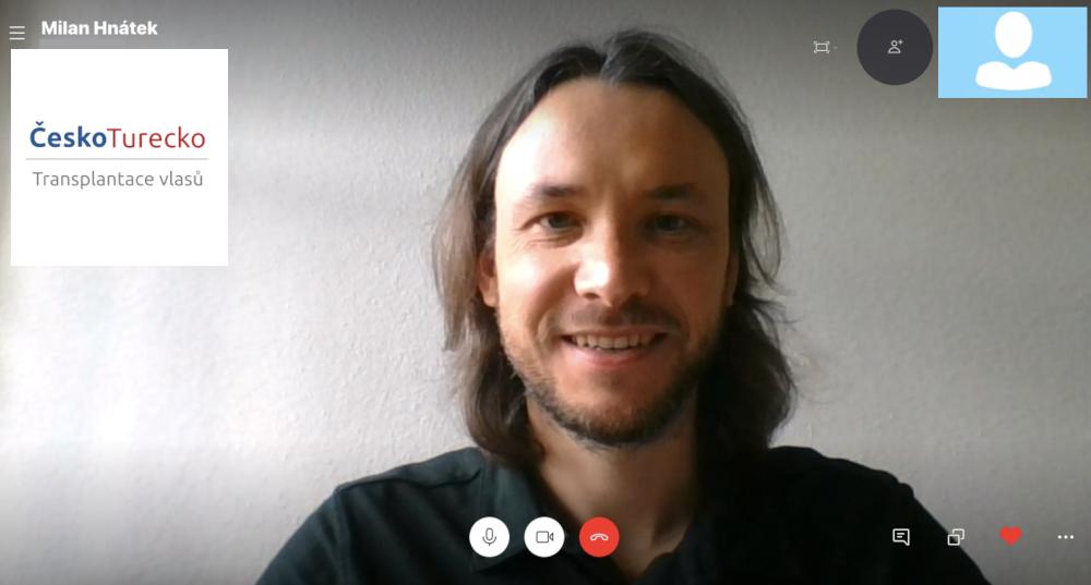 Transplantace vlasů konzultace online ČeskoTurecko