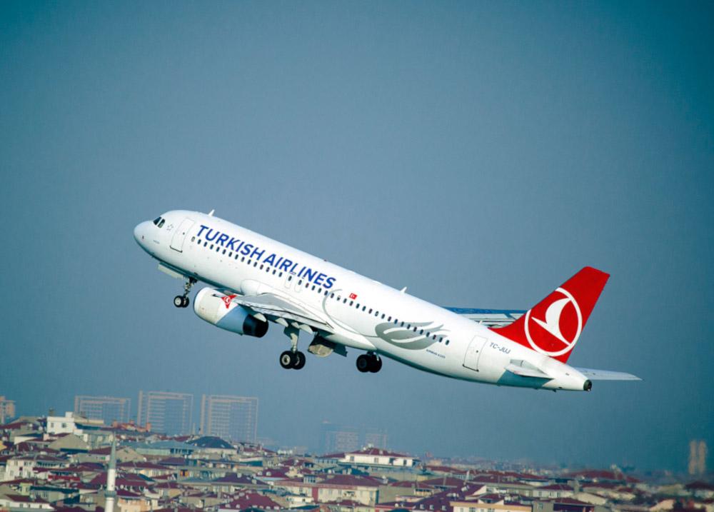 Obnovení letů Turecko Turkish Airlines