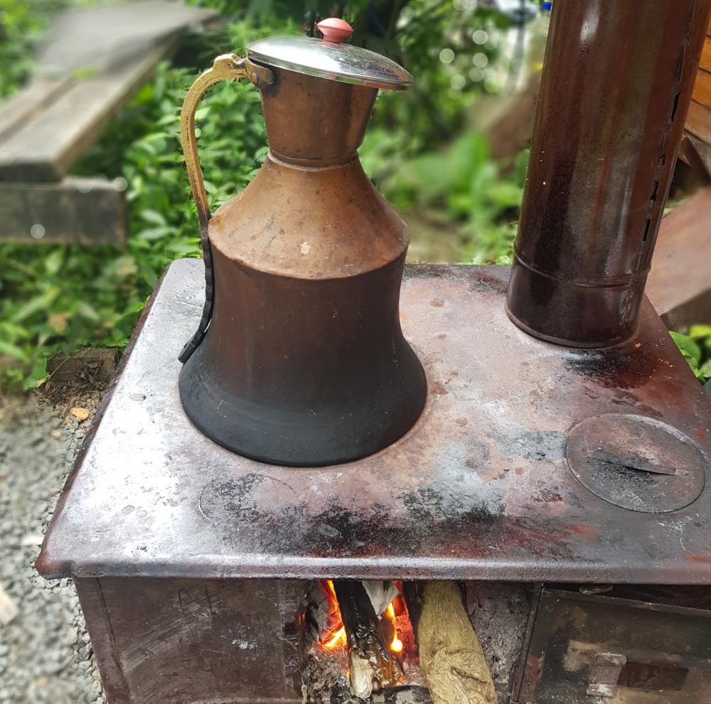turecký čaj konvice