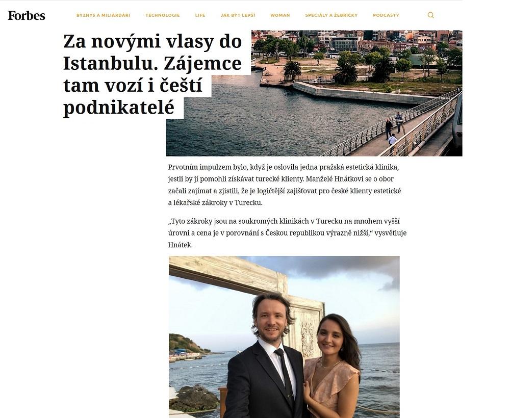 Milan Hnátek a Ece Ergüney Hnátková