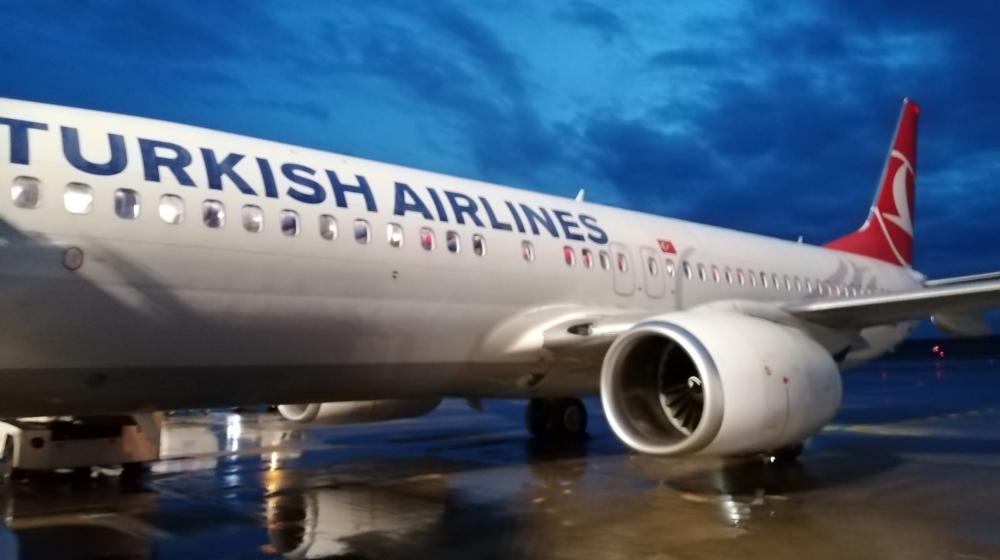 letadlo Turkish Airlines